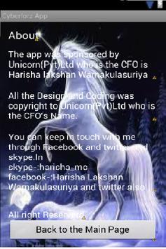 CyberforzApp.apk screenshot 5