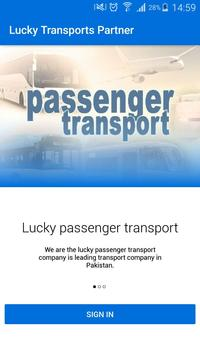 Lucky Transports Partner poster
