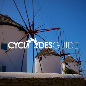 Cyclades Islands - Guide poster