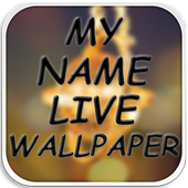 My Name Live Wallpaper HD icon