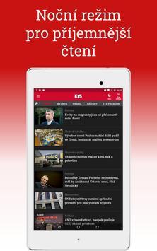 E15: zprávy a události apk screenshot
