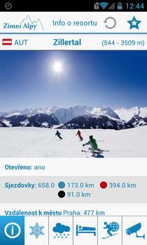 Zimní Alpy screenshot 2