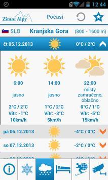 Zimní Alpy screenshot 3