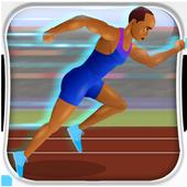 100 Metres - Running Simulator icon