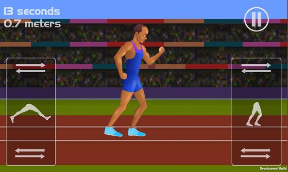 100 Metres - Running Simulator poster