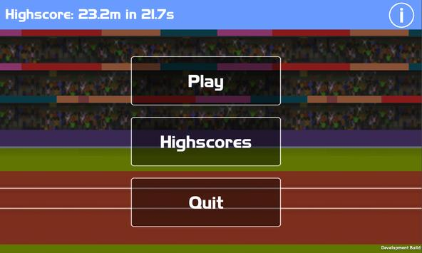 100 Metres - Running Simulator apk screenshot