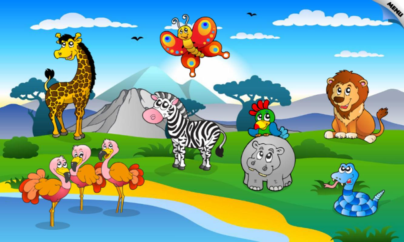 puzzle toddler animals play toddlers google animated puzzles apps android cartoon apk different famous zoo game app clipart apkpure