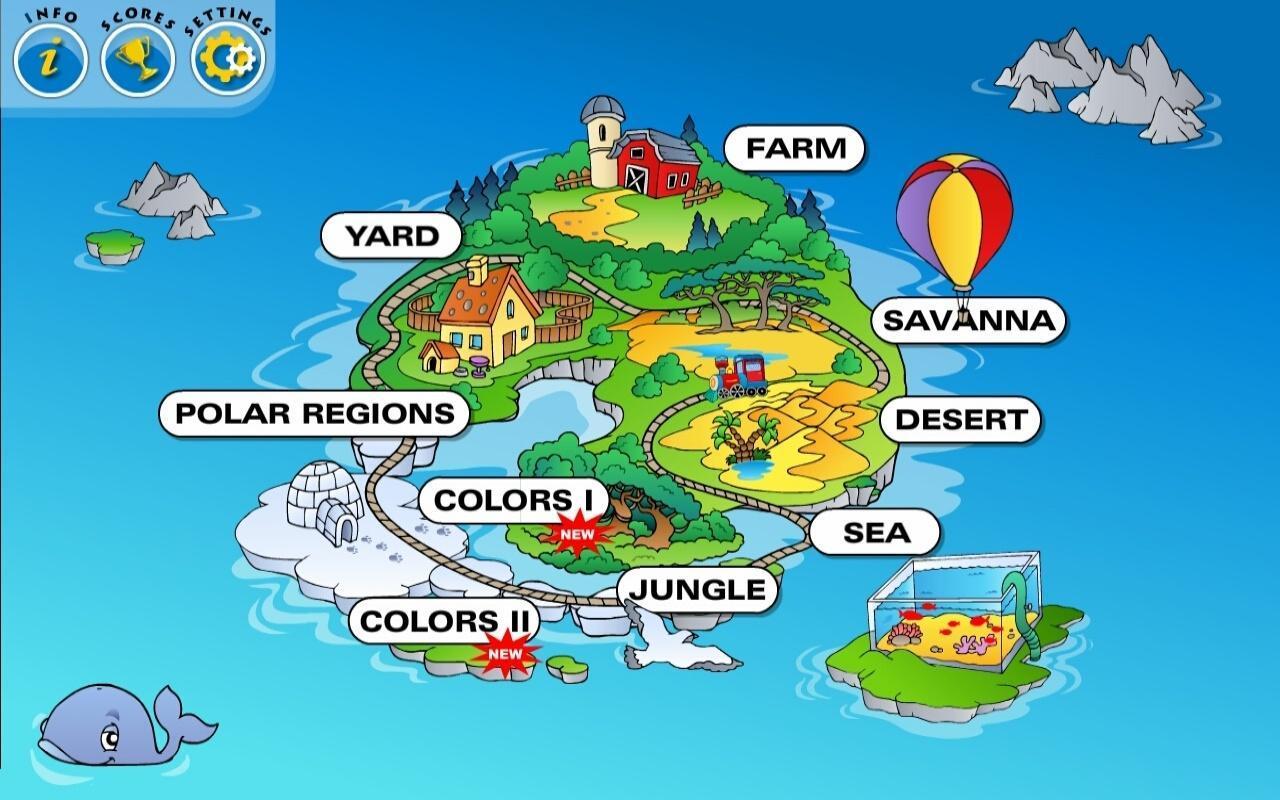 Preschool Learning Games Train APK Download - Free Education APP for ...