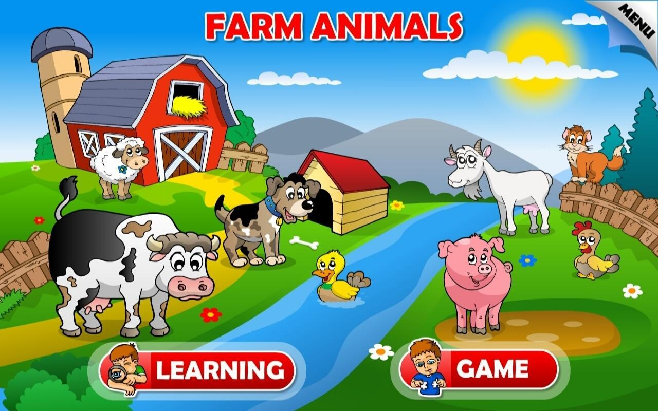 Farm Animals For Kids Kids Animals Farm and ...