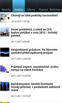 CFO World CZ apk screenshot