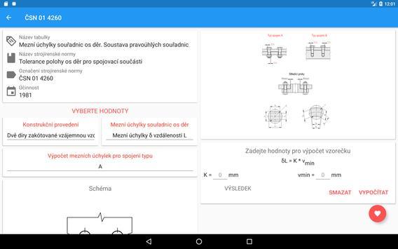 Strojírenské tabulky Lite screenshot 13