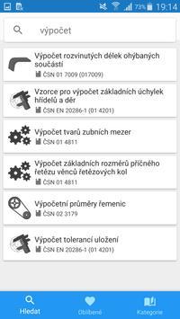 Strojírenské tabulky Lite screenshot 2