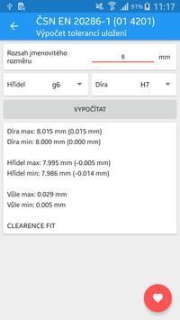 Strojírenské tabulky Lite screenshot 7