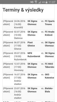 SK Sigma Olomouc screenshot 2