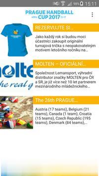 Prague Handball Cup apk screenshot