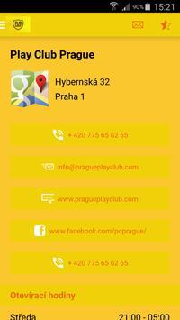 Play Club Prague apk screenshot