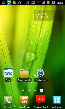 Svátky widget apk screenshot
