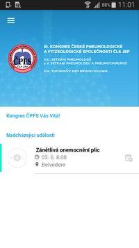 Kongres ČPFS poster