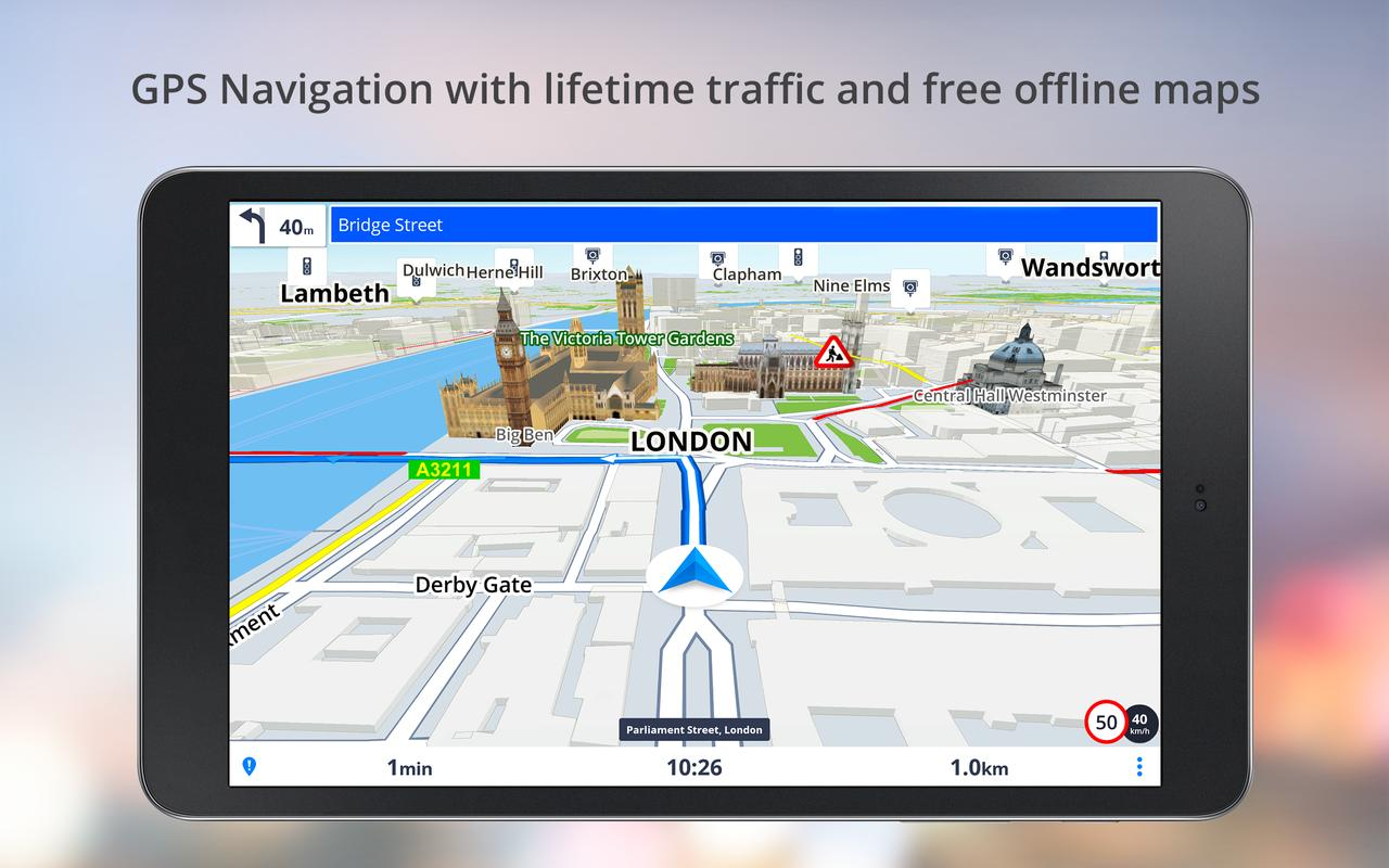 Download GPS Navigation BE-ON-ROAD for android - YouTube