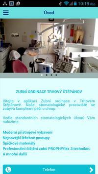 Zubní ordinace Trhový Štěpánov poster