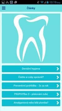 Zubní ordinace Trhový Štěpánov screenshot 2
