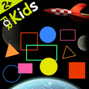 Shapes and Colors Space game APK