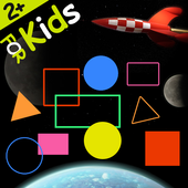 Shapes and Colors Space game icon