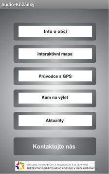 Audio-Křižánky poster