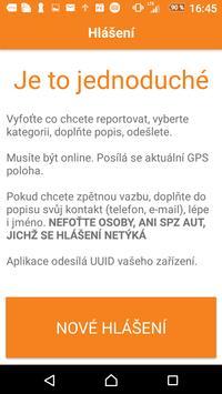 Hlášení GisOnline.cz screenshot 1