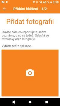 Hlášení GisOnline.cz screenshot 2