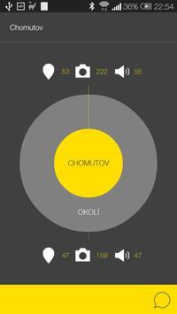 Chomutov - audio tour poster