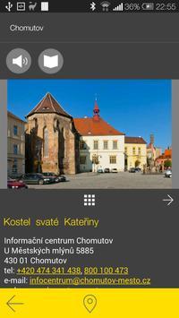 Chomutov - audio tour apk screenshot