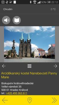 Chrudim - audio tour apk screenshot