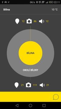 Bílina - audio tour poster
