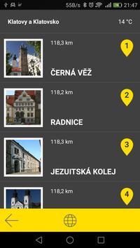 Klatovy - Klatovsko audio tour apk screenshot