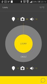 Louny - audio tour poster