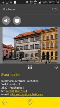 Prachatice - audio tour apk screenshot