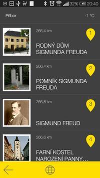 Příbor - audio tour apk screenshot