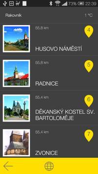 Rakovník - audio tour apk screenshot