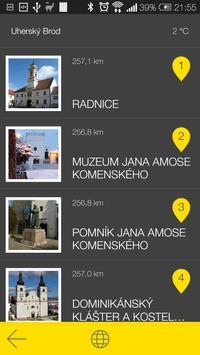 Uherský Brod - audio tour apk screenshot