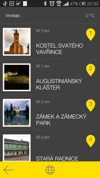 Vrchlabí - audio tour apk screenshot