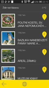 Žďár nad Sázavou - audio tour apk screenshot