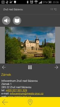 Zruč nad Sázavou - audio tour apk screenshot
