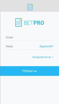 BETPRO adv poster