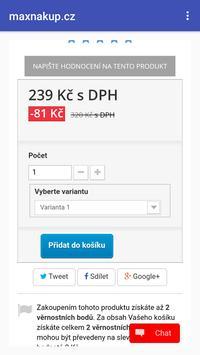maxnakup.cz apk screenshot