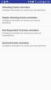 Event Sync for Facebook apk screenshot