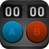 Score keeper app Court counter icon
