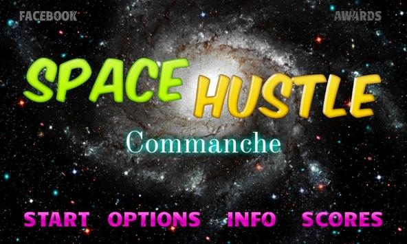 SPACE HUSTLE poster