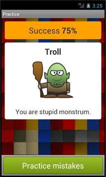 English vocabulary screenshot 2