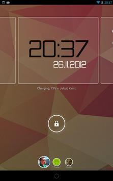 ClockQ - Digital Clock Widget apk screenshot